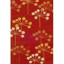 Sawgrass Mills Juneberry Red Indoor/Outdoor Rug