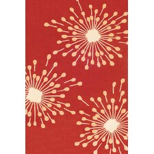 Sawgrass Mills Sparkler Red Indoor/Outdoor Rug