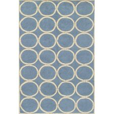 Sawgrass Mills Tribeca Blue Indoor/Outdoor Rug