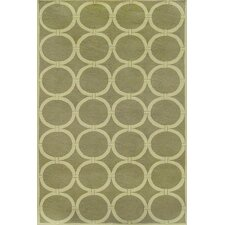Sawgrass Mills Tribeca Green Indoor/Outdoor Rug