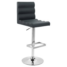 Leatherette Swivel Barstool