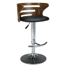 Adjustable Bar Stool with Cushion