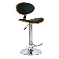 <strong>Creative Images International</strong> Adjustable Bar Stool