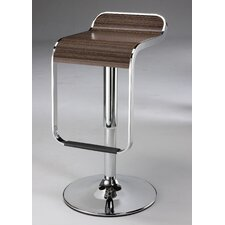 "21""-31"" Swivel Barstool in Tiger Wood"