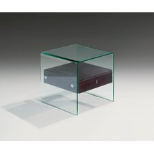 <strong>Creative Images International</strong> Bent Glass End Table