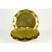 Tango Precious Metal Glass Dinner Plate