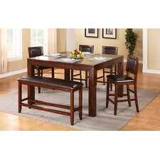 Fallbrook 6 Piece Counter Height Dining Set