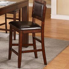 Fallbrook Cushioned Back and Seat Barstool