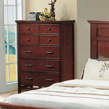 Willow Creek 7 Drawer Dresser