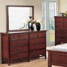 Willow Creek 10 Drawer Dresser