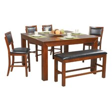 Franklin 6 Piece Counter Height Dining Set