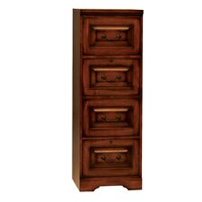 Country 4 Drawer File Cabinet