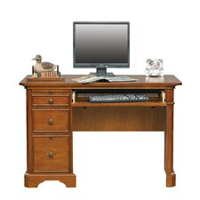 Keyboard Computer Desk with Drawer