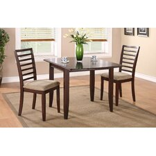 Brownstone 3 Piece Dining Set