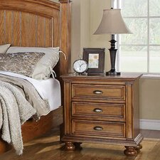 <strong>Winners Only, Inc.</strong> Newport 3 Drawer Nightstand