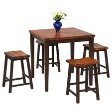 Fifth Avenue 5 Piece Counter Height Dining Set