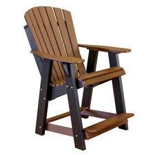 High Fan Back Balcony Chair