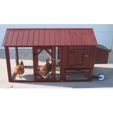 <strong>Little Cottage Company</strong> Atlanta Chicken Tractor with Chicken Run