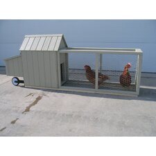 <strong>Little Cottage Company</strong> Berlin Chicken Tractor with Chicken Run