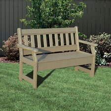 <strong>Little Cottage Company</strong> Poly Lumber Garden Bench