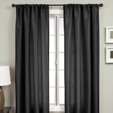 <strong>Softline Home Fashions</strong> Bella Rod Pocket Curtain Single Panel