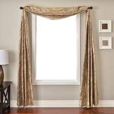 <strong>Softline Home Fashions</strong> Moretto 6 Yard Single Window Scarf