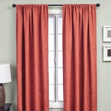 <strong>Softline Home Fashions</strong> Sacra Rod Pocket Curtain Single Panel