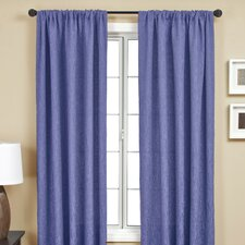 Sacra Rod Pocket Curtain Panel