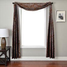 <strong>Softline Home Fashions</strong> Laura 6 Yard Single Window Scarf