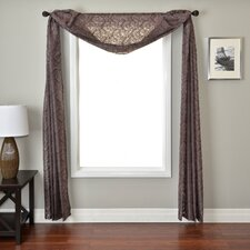 <strong>Softline Home Fashions</strong> Badi Medallion 6 Yard Single Window Scarf