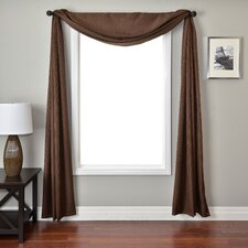 <strong>Softline Home Fashions</strong> Iris Single Window Scarf