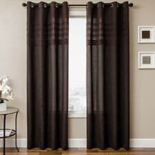 Canvas Rod Pocket Curtain Single Panel