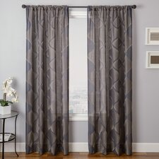 Mellow Rod Pocket Window Curtain Single Panel