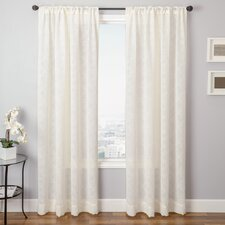 Pioneer Rod Pocket Window Curtain Single Panel