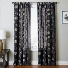 Lucia Rod Pocket Window Curtain Single Panel