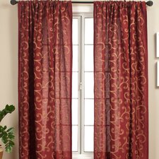 Rivoli Rod Pocket Curtain Single Panel