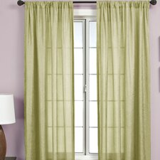 <strong>Softline Home Fashions</strong> Gigi Rod Pocket Curtain Single Panel