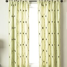 Millau Rod Pocket Curtain Single Panel