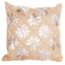 Sea Side Flower Shells Pillow