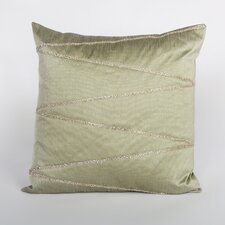 Bling Silk Wave Rhinestone Pillow