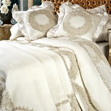 <strong>Debage Inc.</strong> Lace Wreath 9 Piece Duvet Set