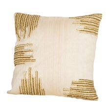 Sea Side Beaded Corners Pillow