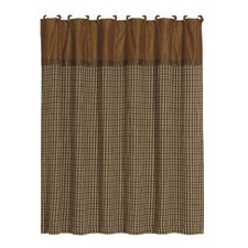 Crestwood Polyester Houndstooth Shower Curtain