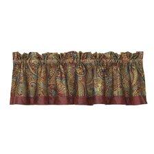 """San Angelo Paisley 84"""" Curtain Valance"""