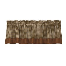 "Crestwood Houndstooth 84"" Curtain Valance"