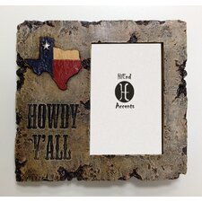 """Howdy Yall 4"""" x 6"""" Picture Frame (Set of 2)"""