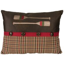 Tahoe Oar Polyester Pillow