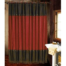 <strong>HiEnd Accents</strong> Cheyenne Polyester Shower Curtain