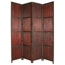 """96"""" x 80"""" Savannah Shoji 4 Panel Room Divider"""