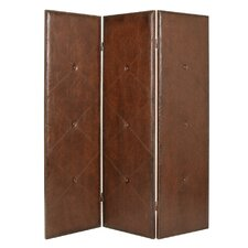 "<strong>Screen Gems</strong> 72"" x 60"" Copley 3 Panel Room Divider"